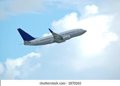 Boeing 737-800 passenger jetliner