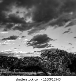 Boerne Texas sunset landscape