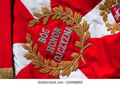 Bog, Honor, Ojczyzna - Polish Military flag