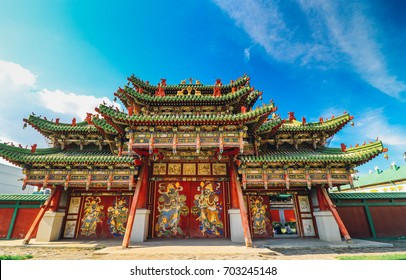 The Bogd Khan Palace,Ulanbaartar,mongolia
