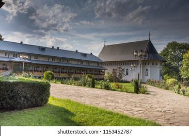 Bogdana Monastery,Romania,Suceava, Radauti,2017,inner  yard