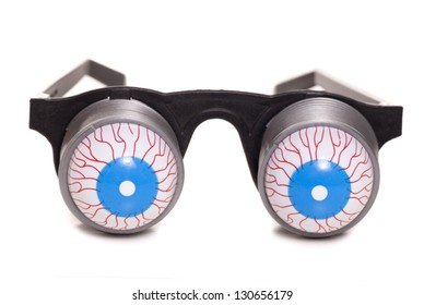 boggled eyed glasses studio cutout