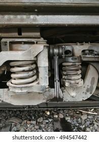 bogie of train  ,Shock springs of the bogies