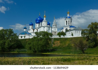 Bogolyubovo village, Suzdal district, Vladimir region, Russia. Architectural ensemble of Bogolyubsky monastery.