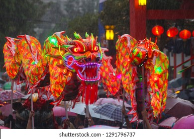Bogor, Indonesia 22 February 2016:Chinese New Yar Cap Go Meh street street cultural festival.
