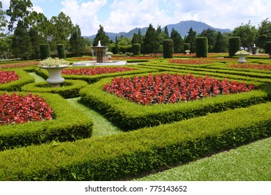 Bogor, November 6, 2017: Nusantara flower garden is located in Puncak, Bogor