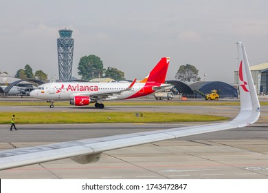 Bogota, Colombia - 22 de Febrero, 2020: Avianca, Colombia's flagship airline files for bankruptcy protection in a US court.
