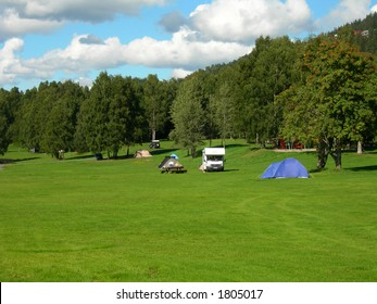 Bogstad camping ground in Oslo.