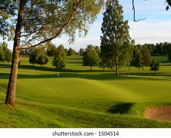 Bogstad golf course in Oslo
