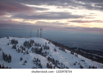 Bogus Basin Mountain SKi Area - Idaho