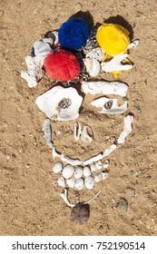 Boho beach face