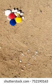 Boho beach texture
