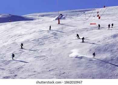 Boi Taull Ski Resort, Catalonia, Spain, January, 12, 2020