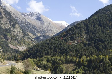 Boi Taull valley  landscape Lleida Catalonia Spain