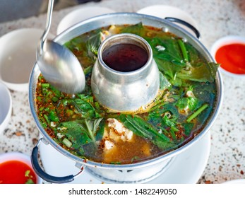 Boil the cartilage soup,spicy,Street food Thai,Restaurant northeast,Green Healthy diet