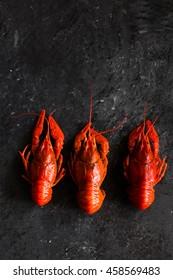 boiled crayfish.