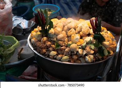 """Boiled egg & """"BALUT"""" (fertilized duck egg) in thailand"""
