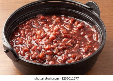 Boiled red beans