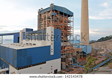 Boiler Turbine House Coal Fired Power Stock Photo (Edit Now ...