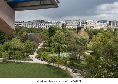 The Bois de Boulogne from the Fondation Louis Vuitton