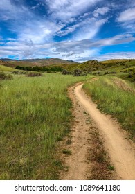Boise foothills hiking and mountain biking trail