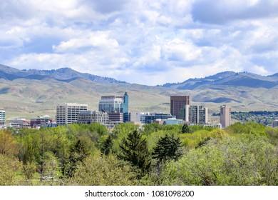 Boise, Idaho, the City of Trees