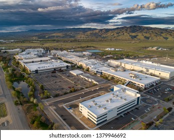 Boise, Idaho USA 4/24/2019 Micron Technology