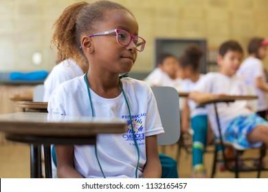 BOITUVASAO PAULOBRAZIL - JUNE 06 2018: Non-governmental organization that provides children and adolescents socio-educational activities