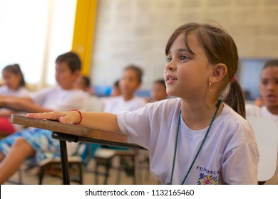 BOITUVA/SAO PAULO/BRAZIL - JUNE 06 2018: Non-governmental organization that provides children and adolescents socio-educational activities