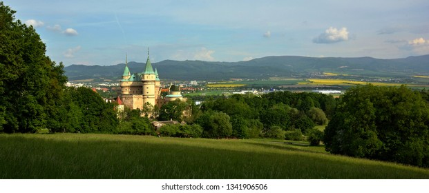 Bojnice castle, Horna Nitra, Slovakia