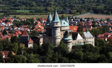 Bojnice castle , one of the most visited cultural monuments in Slovakia and Middle Europe