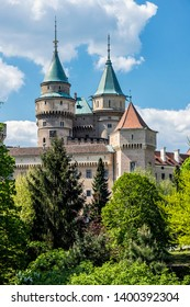 Bojnice castle in Slovak republic. Cultural heritage. Travel destination.