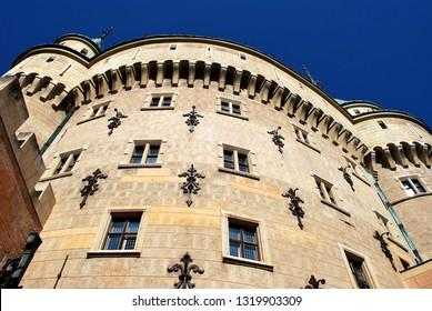 Bojnice, Slovakia - September 10, 2018: The old Bojnice castle