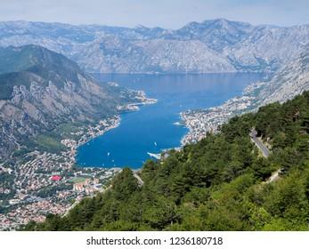 Boka Kotorska Montenegro Coast