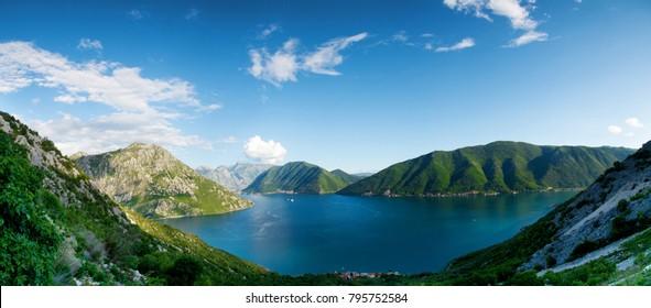 Boka Kotorska view, Montenegro