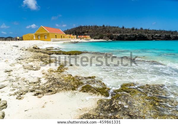 Boka Slagbaai und Landhaus Washington Slagbaai Nationalpark - Blick auf die Karibikinsel Bonaire auf den ABC-Inseln