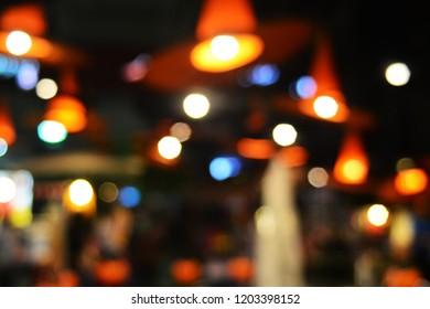 boke in lamp
