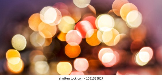 Bokeh. Abstract bokeh background with purple and lilac shade