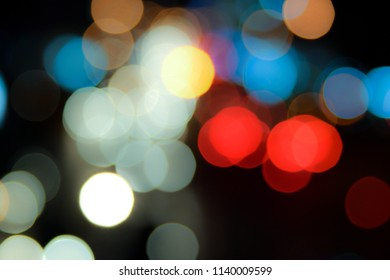 Bokeh abstract christmas light vintage background