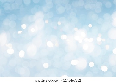 bokeh abstract light background, holiday background for Christmas or New Year