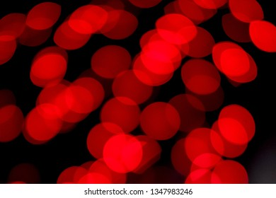 Bokeh abstract red light, Christmas background