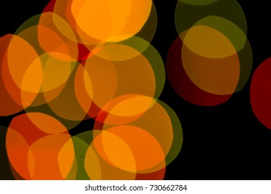 Bokeh, all sorts of color is very beautiful