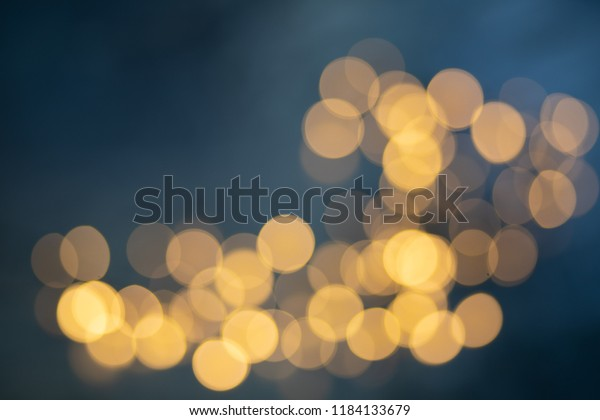 Bokeh Background Colorful Blurred Lights Abstract Stock