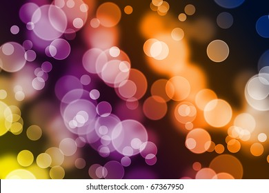 Bokeh background full of colors and blurred shapes. Good for website designs, christmas designs or any other project you might have in mind.