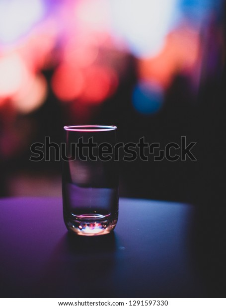 Bokeh background glass