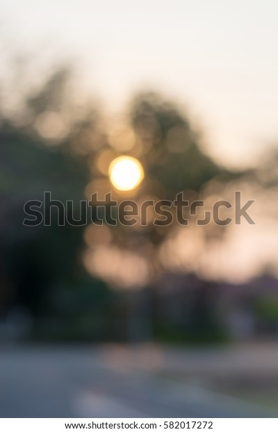 bokeh background on natural light