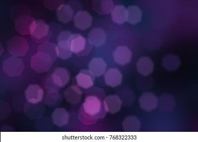 Bokeh background purple