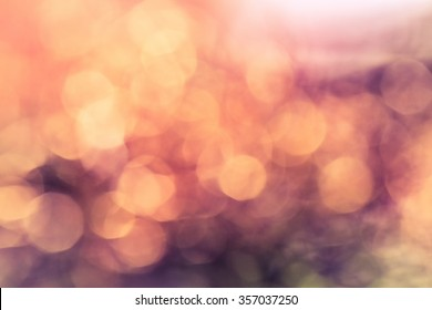 bokeh background in rose
