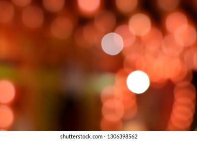 Bokeh, beautiful night light