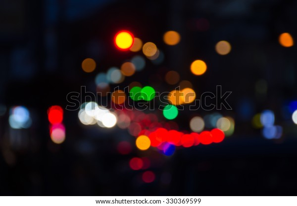 Bokeh Blur Abstract Color Dark Background Stock Photo Edit